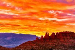 Cockscomb Sunset