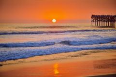 Crystal Pier Sunset